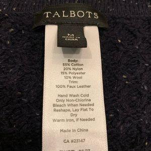 Talbots Sweaters - Talbots cape sweater